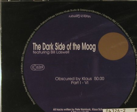 Laswell,Bill /P.Namlook/K.Schulze: The Dark SideOf the Moog VII, PK 08/143(), D, FS-New,  - CD - 94869 - 12,50 Euro