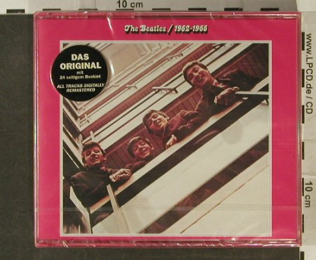 Beatles: 1962-1966 Red Album, FS-New, EMI(), NL, 1993 - 2CD - 94896 - 17,50 Euro