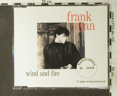 Ryan,Frank: Wind And Fire*2+2, Lim.Ed.No.00056, Intercord(INT 892.712), D, 1991 - CD5inch - 95012 - 5,00 Euro