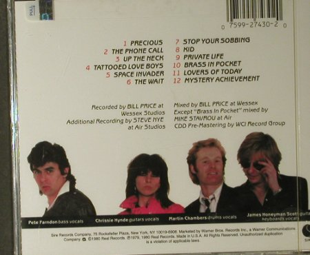 Pretenders: Same(1), FS-New, Sire(), US, 1980 - CD - 95055 - 7,50 Euro