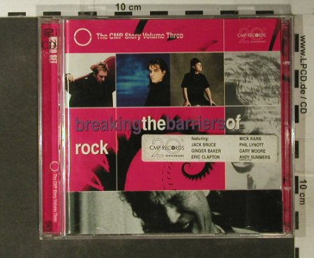 V.A.Breaking the Barriers of Rock: Andy Summers...Jimi Sumen, 25 Tr., CMP(), D, 97 - 2CD - 95065 - 10,00 Euro