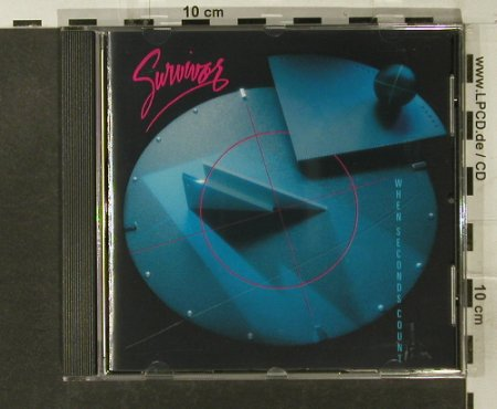 Survivor: When Seconds Count, Volcano(9210522), EU, 1986 - CD - 95084 - 11,50 Euro