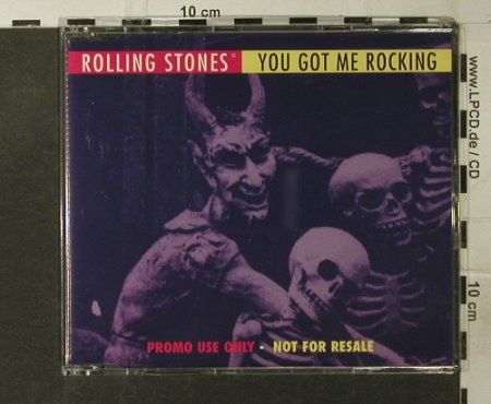Rolling Stones: You got me Rocking*2,Promo, Virgin(VScdJ 1518), UK, 94 - CD5inch - 95088 - 10,00 Euro