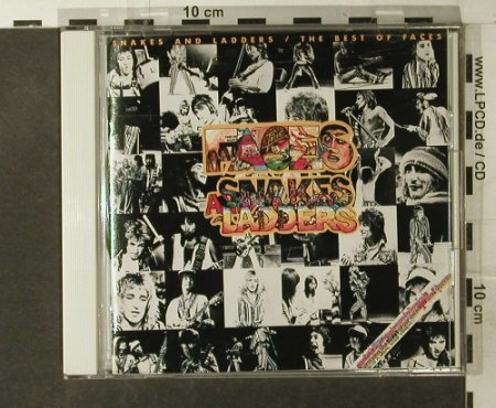Faces: Snakes And Ladders-The Best Of, WB(WPCP-4040), J, 1975 - CD - 95112 - 11,50 Euro