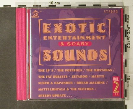 V.A.Exotic Entertainment & Scary: Sounds Vol.2,  21 Tr., Texivcalli(TEXCD 013), SF, 1998 - CD - 95153 - 10,00 Euro