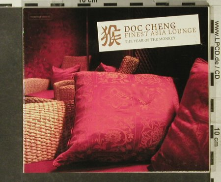 V.A.Doc Cheng:Finest Asia Lounge: The Year Of The Monkey,12 Tr., Digi, Maxelect(), D, 2004 - CD - 95195 - 10,00 Euro