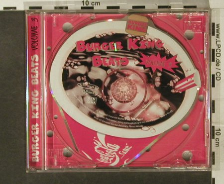 V.A.Burger King Beats: Vol.3 - 4Tr.(Jeff HealyBand..Sweet), BMG(74321 32528 2), EC,  - Shape - 95208 - 4,00 Euro