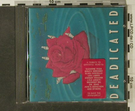 Grateful Dead by V.A.: Dedicated, Arista(354 179), D, 1991 - CD - 95258 - 10,00 Euro