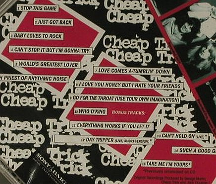 Cheap Trick: All Shook Up(80),+5 Bonus Tr.FS-New, Epic/Legacy(), EU, 2006 - CD - 95388 - 10,00 Euro