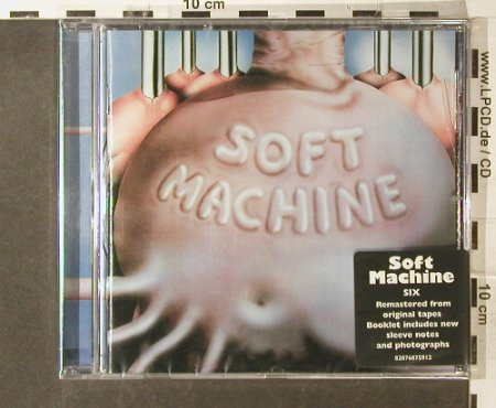 Soft Machine: Six (1973), 15 Tr., FS-New, Sony(), EU, 2007 - CD - 95392 - 11,50 Euro