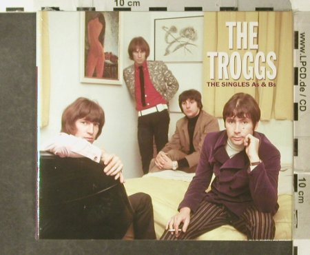 Troggs,The: The Singles As & Bs, Digi, FS-New, Repertoire(REPUK 1028), D, 2004 - 3CD - 95402 - 17,50 Euro