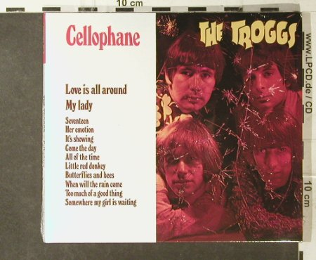 Troggs,The: Cellophane, Digi, FS-New, Repertoire(REPUK 1021), , 2003 - CD - 95403 - 11,50 Euro