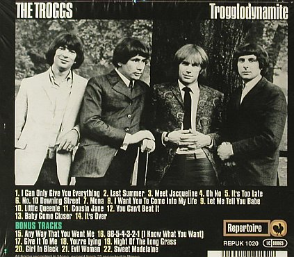 Troggs,The: Trogglodynamite, Digi, FS-New, Repertoire(REPUK 1020), D, 2003 - CD - 95404 - 11,50 Euro