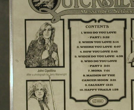 Quicksilver Messenger Service: Happy Trails(69), Repertoire(REP 4868), D, 2000 - CD - 95410 - 11,50 Euro