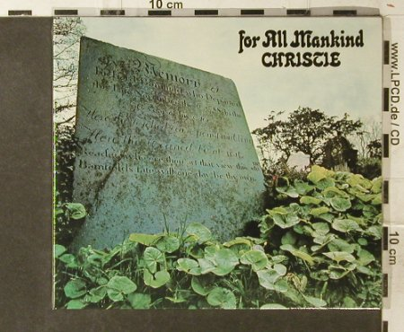 Christie: For All Mankind, Digi, FS-New, Repertoire(RES 2305), D, 2005 - CD - 95419 - 11,50 Euro