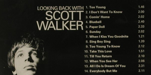Walker,Scott: Looking Back With, FS-New, Repertoire(REP 4604-WY), D,  - CD - 95425 - 11,50 Euro