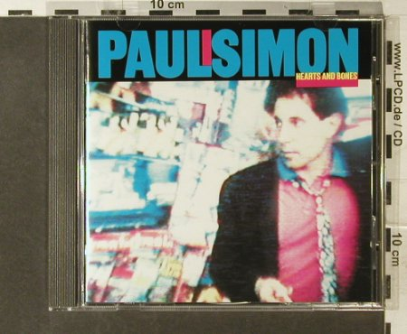 Simon,Paul: Hearts And Bones, WB(9 23942-2), D, 1983 - CD - 95437 - 10,00 Euro