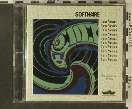 Software: Ten Years, only Booklet,Lim.Ed., IC 2220-2(), D, 1994 - CD - 95512 - 7,50 Euro