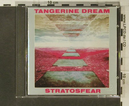 Tangerine Dream: Stratosfear(76), Virgin(CDV 2068), NL, 1984 - CD - 95535 - 11,50 Euro