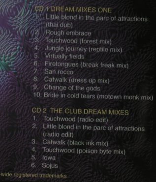 Tangerine Dream: Dream Mixes Vol.1, TDI(005), D,  - 2CD - 95549 - 12,50 Euro