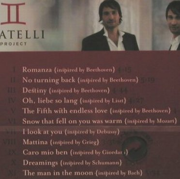 Fratelli Project: Romanza, FS-New, Almara(), D, 2006 - CD - 95617 - 7,50 Euro