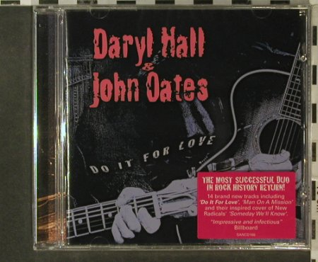 Hall,Daryl & John Oates: Do It For Love, FS-New, Sanctuary(), UK, 2002 - CD - 95670 - 10,00 Euro