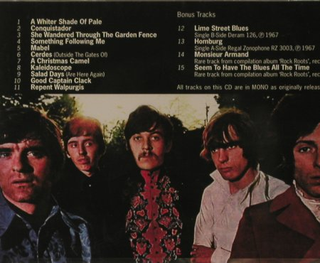 Procol Harum: A Whiter Shade Of Pale(67), FS-New, Repertoire(REP 4666), D, 1997 - CD - 95703 - 10,00 Euro
