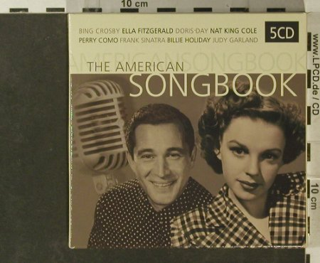 V.A.The American Songbook: 70 Tr., Cheapolata(LATA530), NL, 2005 - 5CD - 95712 - 10,00 Euro