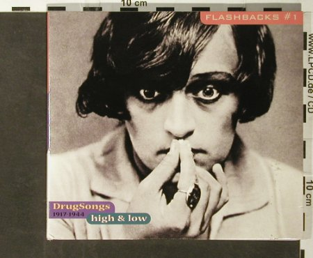 V.A.Flashbacks #1: Drug Songs 1917-1944, Digi, Indigo(), D, 2000 - CD - 95720 - 7,50 Euro