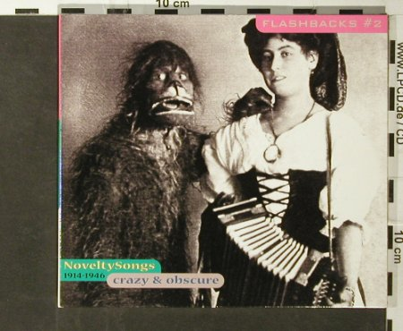 V.A.Flashbacks #2: Novelty Songs 1914-1946, Digi, Indigo(), D, 2000 - CD - 95721 - 7,50 Euro