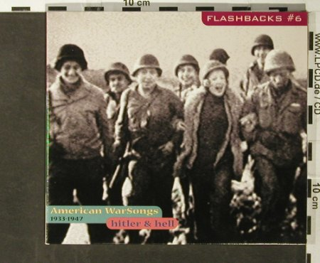 V.A.Flashbacks #6: American Warsongs,1933-1947, Digi, Indigo(), D, 2000 - CD - 95725 - 7,50 Euro
