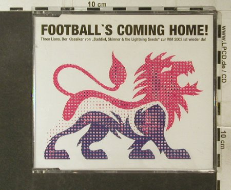 Baddiel, Skinner & Lightning Seeds: Football is coming Home!, Epic(), D, 02 - CD5inch - 95738 - 4,00 Euro