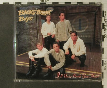 Backstreet Boys: I'll Never Break Your Heart*2+1, Jive(), EC, 95 - CD5inch - 95739 - 3,00 Euro