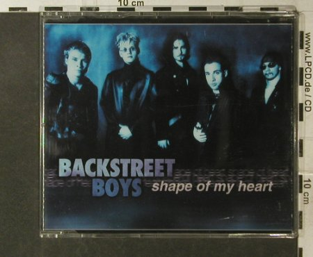 Backstreet Boys: Shape of my Heart +2, Zomba(), EU, 2000 - CD5inch - 95740 - 3,00 Euro