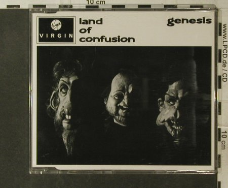 Genesis: Land Of Confusion*2+2, Virgin(SNEG3-12), UK, 1986 - CD5inch - 95866 - 4,00 Euro