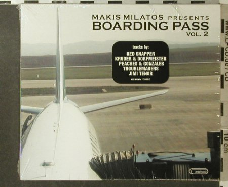 V.A.Boarding Pass Vol.2: Makis Milatos pres., FS-New, Erosmusic(90452), EU, 2002 - CD - 95940 - 12,50 Euro