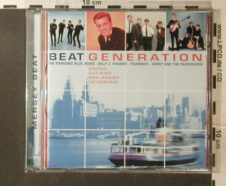 V.A.Beat Generation: Gary & Pacemakers...Scaffold,16Tr., Disky(), EU, 2001 - CD - 96012 - 5,00 Euro