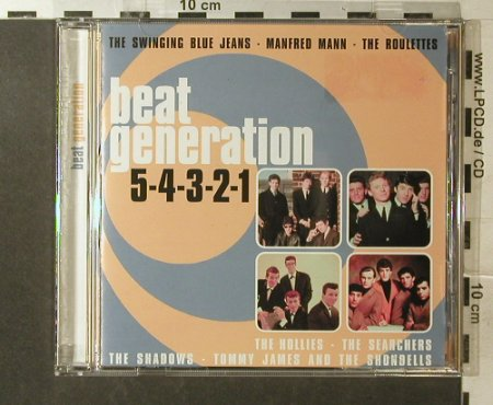 V.A.Beat Generation: 54321,Swinging Blue...Peter Noone, Disky(), EU,16Tr., 2001 - CD - 96013 - 5,00 Euro