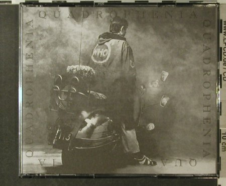 Who: Quadrophenia,remaster, Polyd.(), , 1996 - 2CD - 96109 - 12,50 Euro