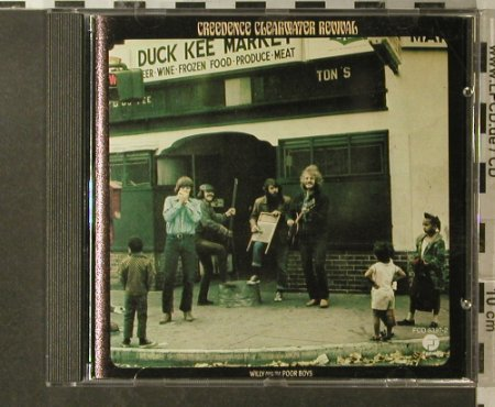 CCR: Willy And The Poor Boys, Fantasy(), D,  - CD - 96110 - 7,50 Euro