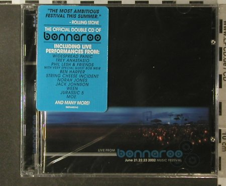 V.A.Bonnaroo Music Festival 2002: 21 Tr., FS-New, Sanctuary(), US, 2002 - 2CD - 96124 - 10,00 Euro
