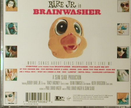 Bare Jr.: Brainwasher, Immortal(), EU, 00 - CD - 96169 - 7,50 Euro