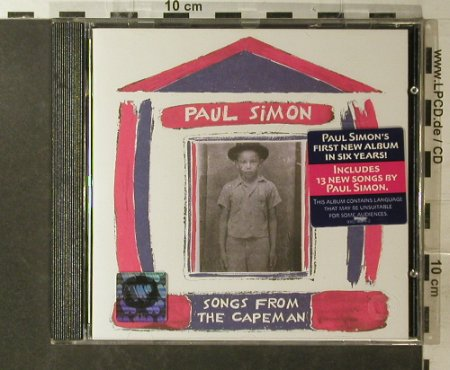 Simon,Paul: Songs From The Capeman, WB(), D, 97 - CD - 96174 - 7,50 Euro