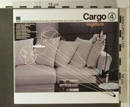 V.A.Cargo 4: High Tech..Nu-Cool,E-Swing.. FS-New, Cool d:vision Rec.(), EU, Box, 2007 - CD - 96221 - 10,00 Euro