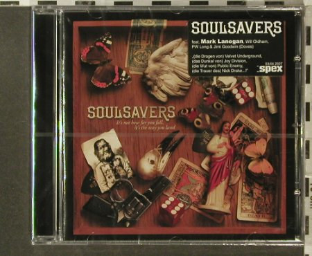 Soulsavers: It's Not How Far You Fall...FS-New, V 2(), EU, 2007 - CD - 96317 - 11,50 Euro