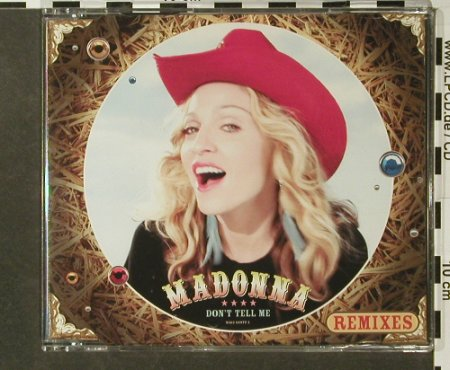 Madonna: Don't Tell Me*4, Maverick(9362 14977-2), D, 2000 - CD5inch - 96441 - 14,00 Euro