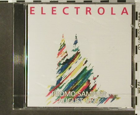 V.A.Electrola: Promo-Sampler August 1993, FS-New, EMI(CDP 5 19308), D, 1993 - CD - 96450 - 7,50 Euro
