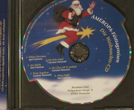 Carreras/Pavarotti - Ameropa: Die Weihnachts-CD,6Tr., Shape, Multimedia(T-1467), D, 1997 - CDgx - 96471 - 10,00 Euro