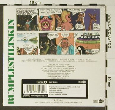 Rumplestiltskin: Same'70, Digi, FS-New, Lim.Ed., Repertoire(), UK, 2007 - CD - 96548 - 12,50 Euro