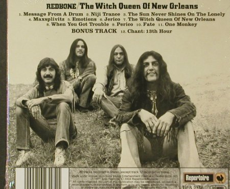 Redbone: The Witch Queen Of New Orleans'71, Repertoire, Digi(RES 2318), FS-New, 2004 - CD - 96557 - 11,50 Euro
